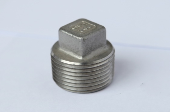 stainless steel square plug fig no.7