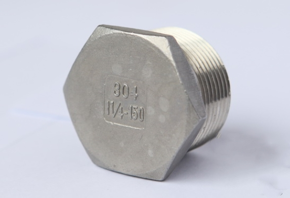 stainless steel hexagon plug fig no.8