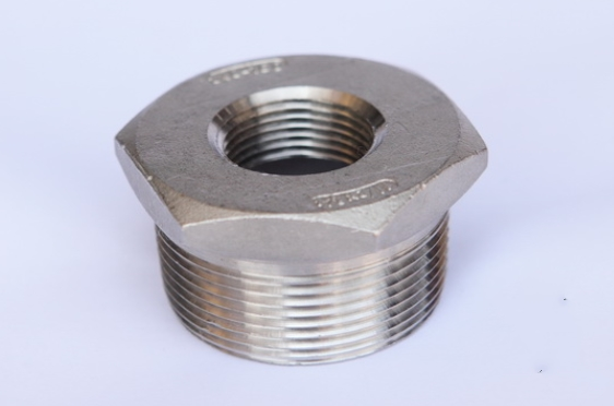stainless steel hexagon bushing fig no.9